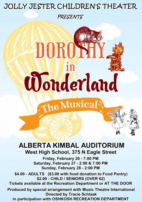 Dorothy in Wonderland Poster 2016